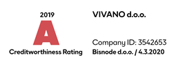 Creditworthness rating Vivano